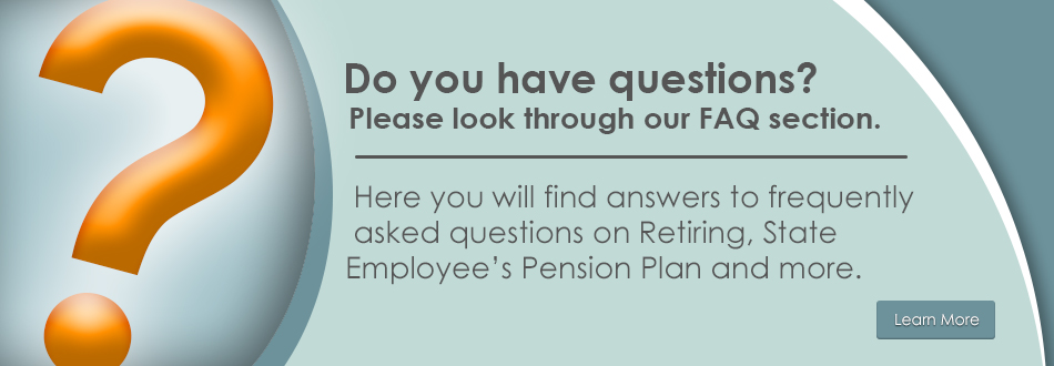 Frequently Asked Questions for the Pension Office