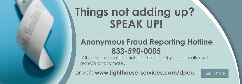 Fraud Reporting Hotline